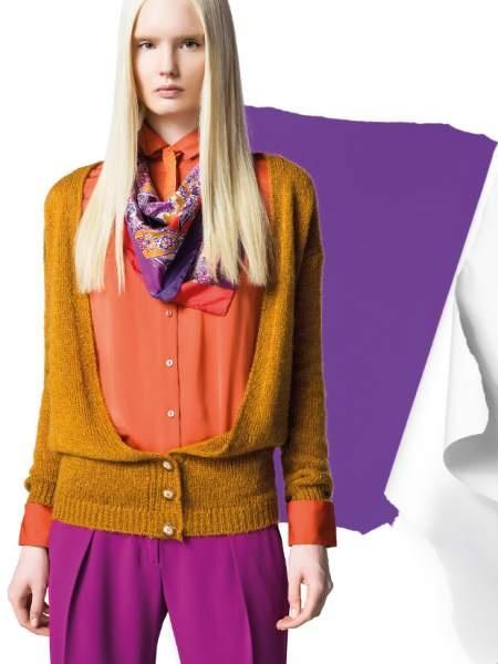 cardigan y camisa benetton otoño-invierno 2012/2013