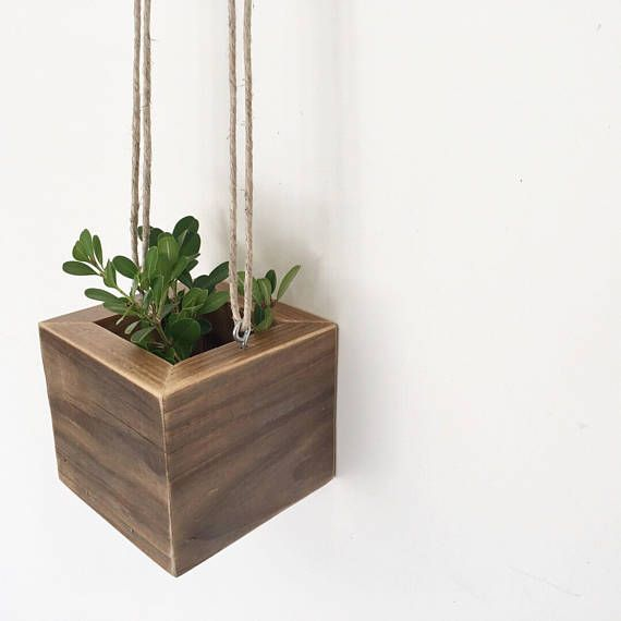 beautiful hanging wood planter box kits