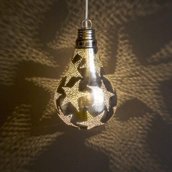 I'm sure this could be an easy DIY project! Star light bulb!