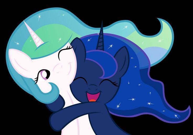 #MLP:FiM Princess Celestia & Princess Luna