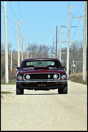 1969 Ford Mustang Boss 429 Fastback  KK #1806