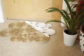 Resultado de imagem para como fazer tapete de sisal quadrado