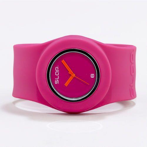 Pink Slap Watch $19.99Palette'S Al Pink Al, Marketing, Slap Watches, Pink Slap, Watches 19 99, Watches 1999, Products, Neon Slap, Large