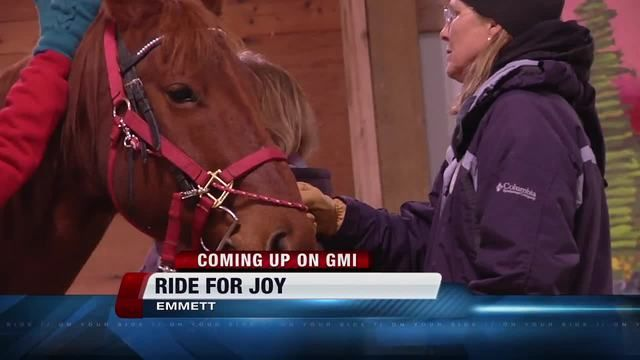Emmett's Ride for Joy provides therapeutic horse riding to Idaho kids and adults with special needs (video)