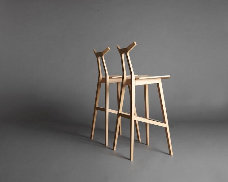 nara bar stool // shin azumi