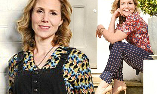 Sally Phillips talks about her wardrobe staples | Daily Mail Online