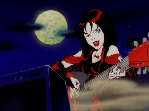 The Hex Girls, from Scooby Doo and the Witch's Ghost...I loved this movie when I was little, mostly because of the hex girls. I wanted to be Thorn (the lead singer) XD
