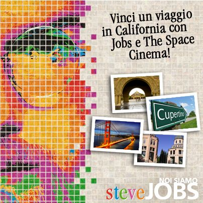 #JOBSilfilm - Partecipa e vinci un viaggio in California =>https://www.noisiamostevejobs.it/