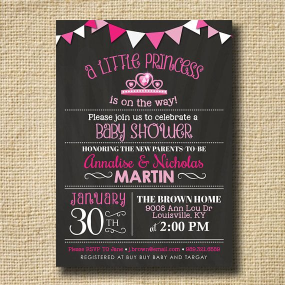 Couples Baby Shower Invitation Baby Shower Girl by creativelime