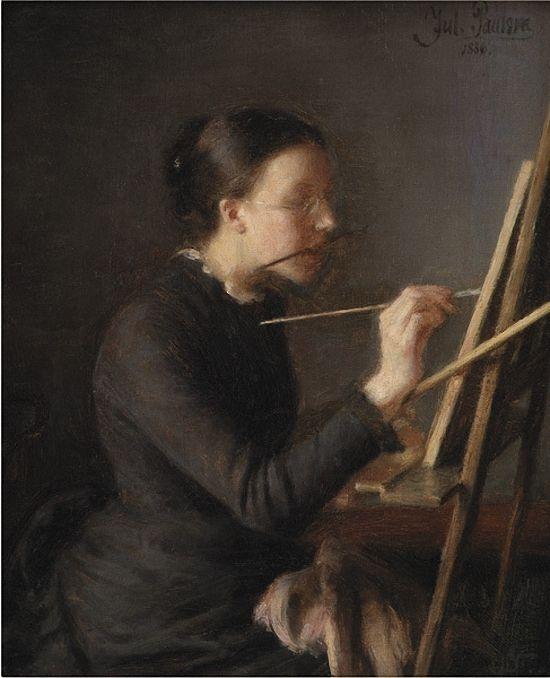 Hans Zatzka (Austrian, 1859-1945) A Fine and Charming Oil