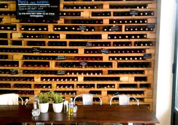 20 Wine Racks Made from Discarded Wood Pallets | RenewPurpose |