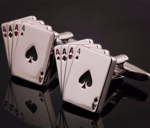 juego de mancuernas gemelos para camisa acero inoxidable.