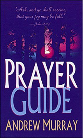 Learn how you can make your prayers more effective. This book contains prayer topics that will show you what to pray for and how to pray. As you learn about prayer, you will realize that it is the most important and rewarding thing you can do each day. Prayer Guide is divided into thirty-one sections to be used as a month devotional that will lead the reader in a month long journey of learning how to pray. #Prayer #Pray #AndrewMurray