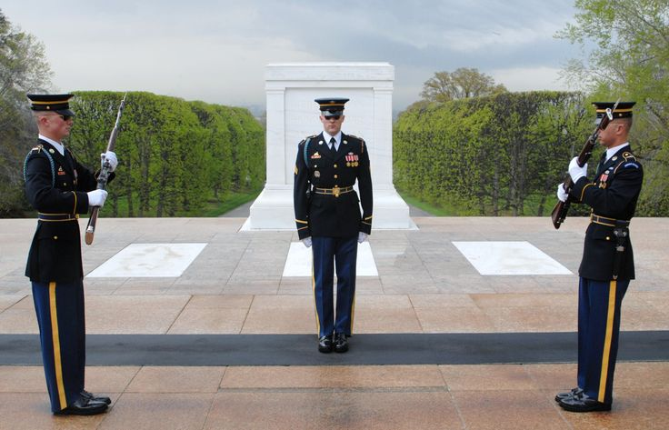The Tomb Of The Unknown Soldier – Arlington National Cemetery, Washington DC