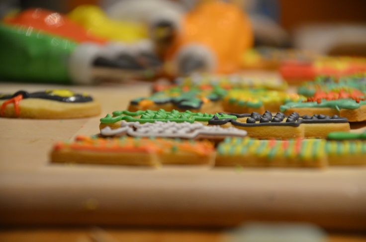 Love colorful cookies