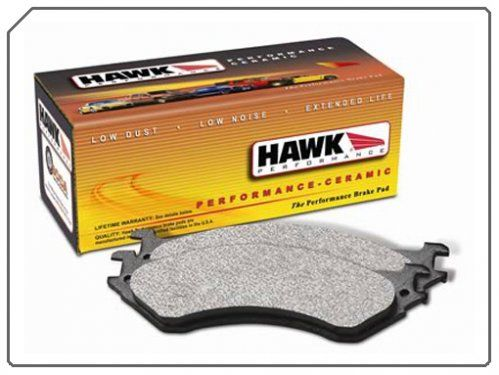 C6 Corvette Brake Pads C5-C6 Hawk Ceramic Performance Ceramic is engineered to reduce brake NVH (Noise, Vibration and Harshness), creating a quieter performing brake pad. Furthermore, the ceramic brake pad formula has a linear friction profile that allows your ABS brake system to work more effectively. With Performance Ceramic you can expect reduced brake pad wear, lower dust output levels and a rotor-friendly brake pad.