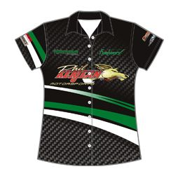 Women's Pit Crew Shirts | Design Your Own Custom Racing Shirts | Captivations Sportswear | Custom sportswear and apparel supplier