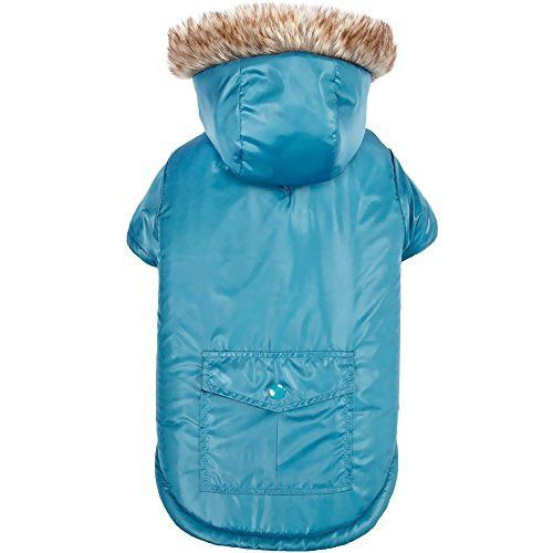 Zack & Zoey Elements ThermaPet Reversible Thermal Parkas-Innovative Water-Resistant Coats for Dogs Designed to Keep Pets Warm Using Their Own Body Heat, Not Electricity