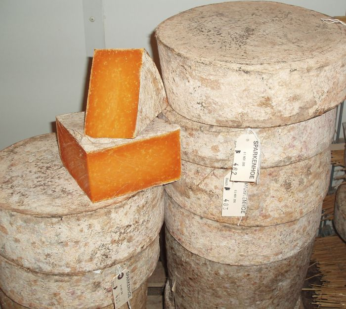 Red Leicester Cheese from Englands Midlands