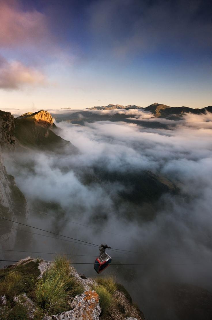 Teleférico de Fuente Dé #Liebana #Cantabria #Spain #Mountain #Travel