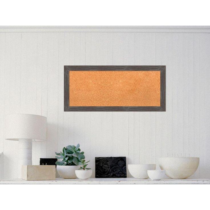 framed cork board target large uk boards grey wood home depot