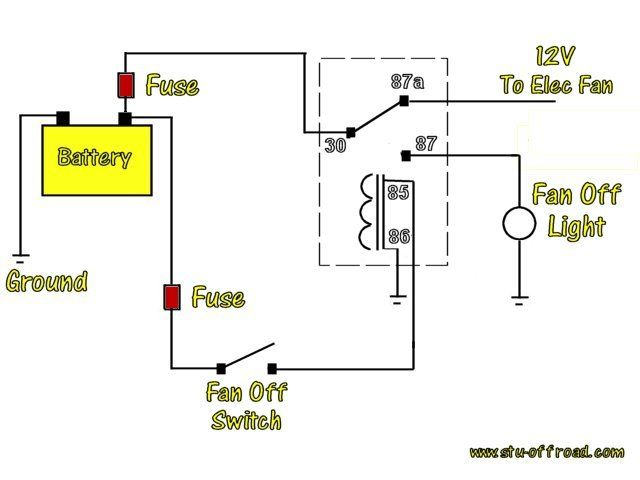 Relay Diagrams Pirate4x4 Com 4x4 And Off Road Forum Diagram