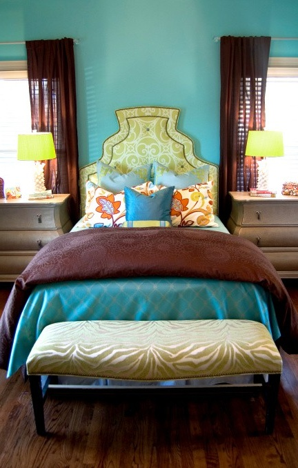 Overstock Bedroom Sets: 61 Best Images About Turquoise And Brown Bedding On
