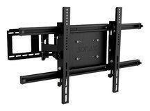 """Sonax - Tilting TV Wall Mount for Most 32"""" - 90"""" Flat-Panel TVs - Extends 24"""" - Black"""