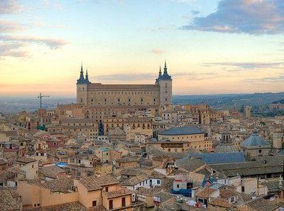 vue de #Tolède : une ville de culture et d'artisanat en #Espagne