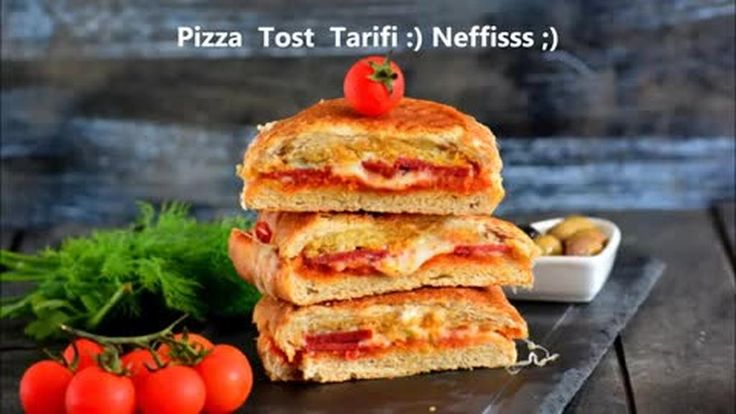Pizza Tost Tarifi ( Tadına doyum olmaz )