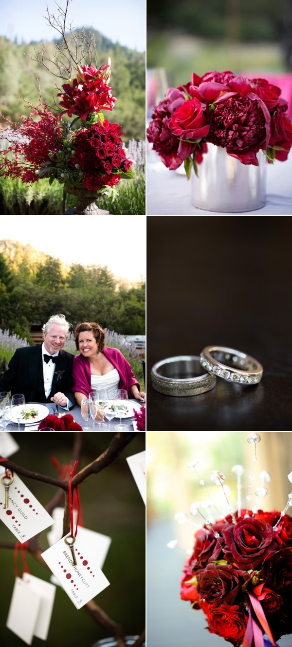Fall wedding colors. I LOVE these photos!