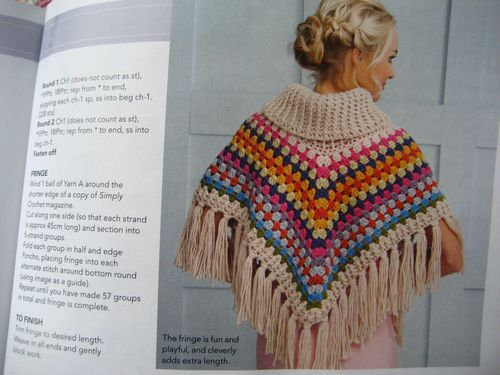 Free Crochet Patterns For Cowl Neck Poncho : IMG_7529 Crochet Ponchos and Capes Pinterest Attic ...