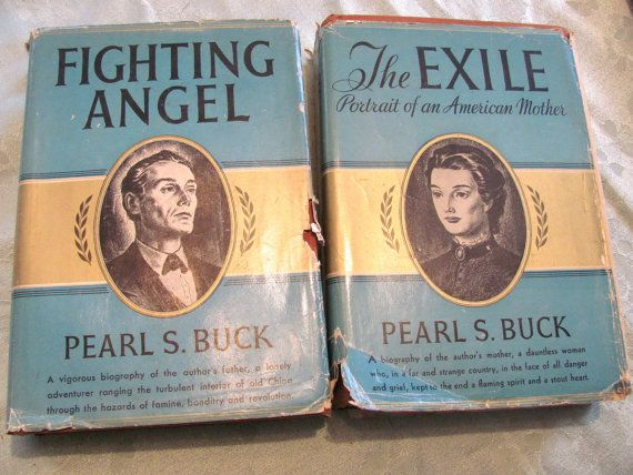 Pearl S. Buck  Pair of Biography books about by MusicAndClassics, $18.00