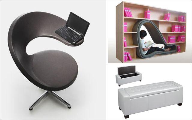 Mueble multifuncional para espacios peque os dise o de - Diseno de interiores pisos pequenos ...