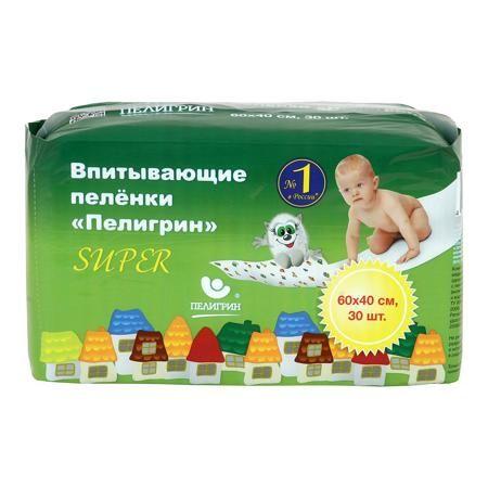 Пелигрин Пеленки впитывающие 60*40 см  — 677р. ----------------- Впитывающие детские пеленки Пелигрин для защиты кожи малыша и поверхности кроватки. Классические пеленки «Пелигрин» - это всегда удобно: • пеленка хорошо пропускает влагу, оставляя ко...