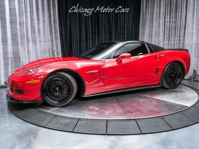 Ebay Advertisement 2008 Corvette Z06 20k In Upgrades 2008