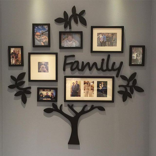 Wallverbs 13 Piece Family Tree Set In Black Bed Bath Beyond
