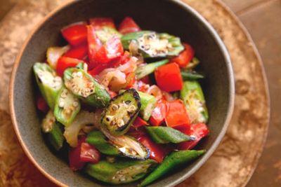 quiabo tomates receita diabetes