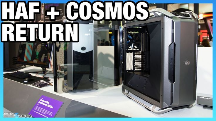 We look at Cooler Master's H500P & Cosmos C700P at Computex 2017. Cooler Master H500P & Cosmos C700P Case Hands-On…