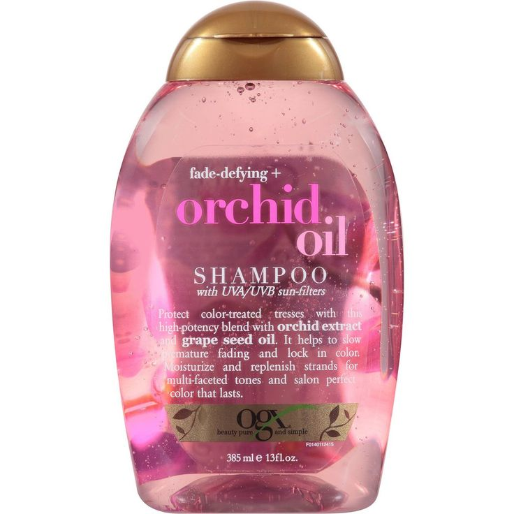 OGX Fade-Defying + Orchid Oil Shampoo and Conditioner at Target $5