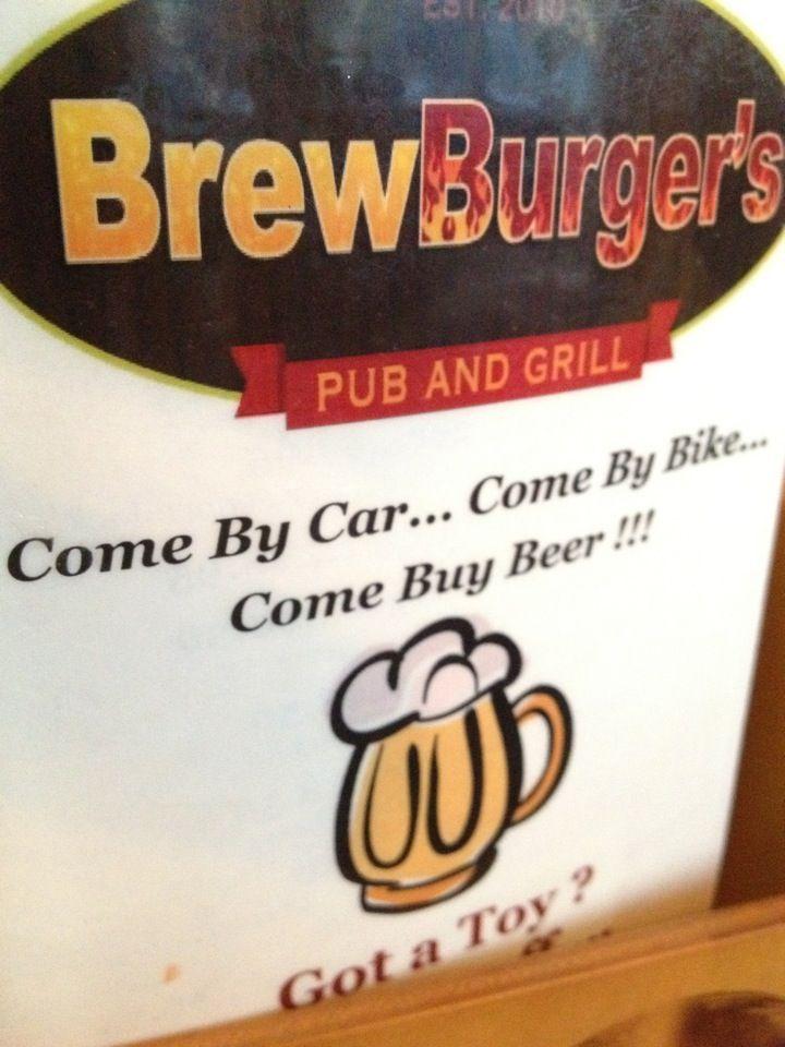 Brewburgers in venice fl restaurant projects by for Cedar reef fish camp menu
