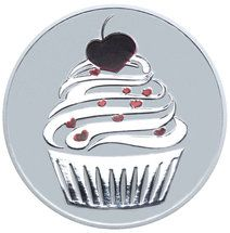 2015 Cupcake 1oz silver proof Tokelau coin from Treasures of Oz