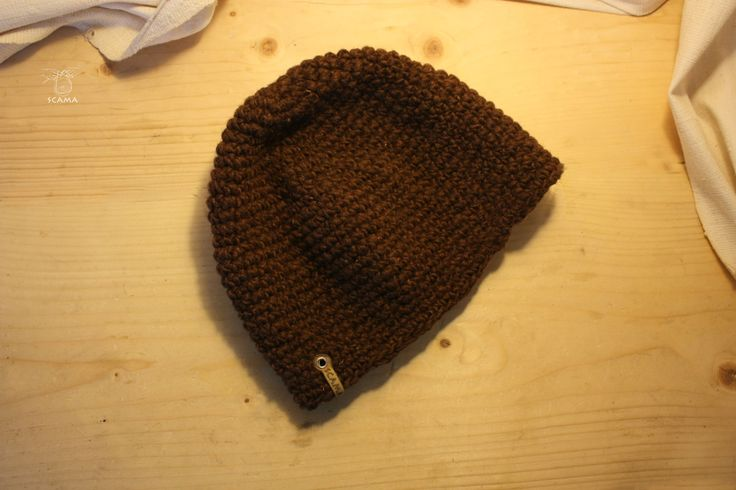 Hand Made long beenie from woll and wool.