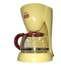 Macchina caffè caffettiera automatica Corsini American Coffee - Macchina per caffè-filtro, capacità 10 tazze. Spia luminosa che indica quando la caffettiera è in funzione.