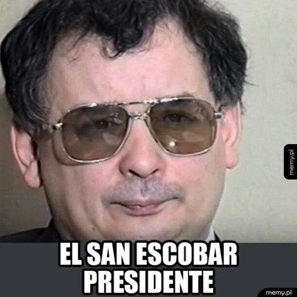 EL SAN ESCOBAR PRESIDENTE #minister #waszczykowski #sanescobar