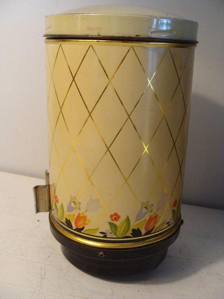 Vintage Hall Crocus Coffee Dispenser 1940s? Wall Mount Club Aluminum | Collectibles, Kitchen & Home, Kitchenware | eBay!