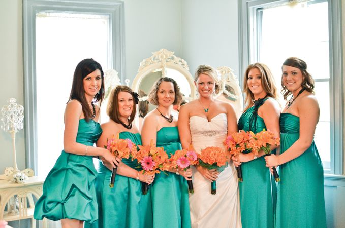Colorful Bridesmaid Dresses from Davids Bridal | The Fashion Bomb If you're looking for that perfect frock check out the affordable bridesmaid dresses at Davids Bridal. davids-bridal .