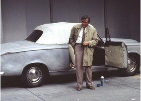 COLUMBO. Columbo's Peugeot 403 Grande Luxe Cabriolet (1960).