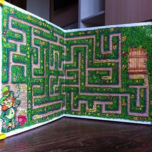 Johanna Basford Secret Garden Coloring Books Colouring Maze Cute Drawings Labyrinths Colour Book Forests