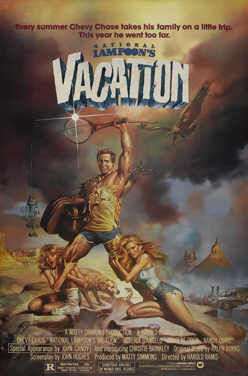 Boris Vallejo's posters for the first 2 vacation movies are great.